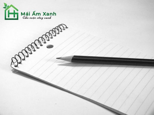 Viết cảm xúc hiện tại của bạn ra giấy
