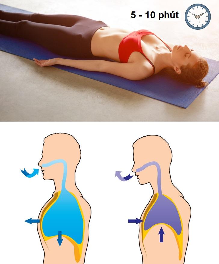 Giảm mỡ bụng bằng yoga