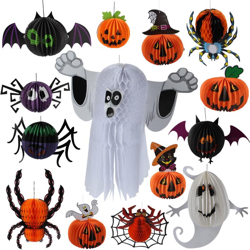 trang trí văn phòng phong cách halloween
