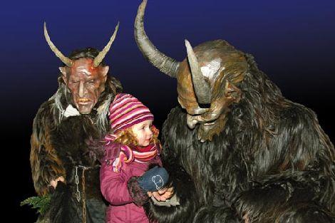 Ác quỷ Krampus trong đêm Giáng sinh tại Áo